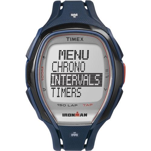 Timex IRONMAN Sleek 150 Sport Watch (Blue)