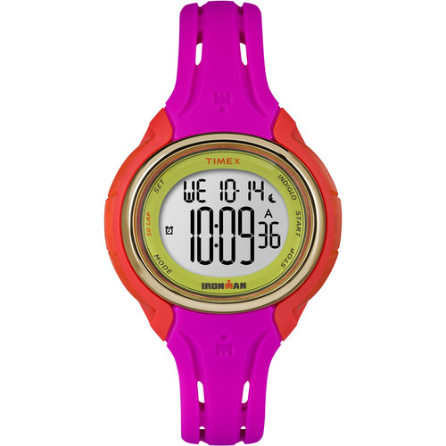 Timex IRONMAN Sleek 50 Mid-Size Sport Watch (Pink)