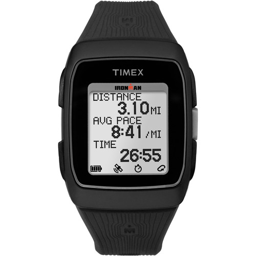 Timex IRONMAN GPS Watch (Black/Black)