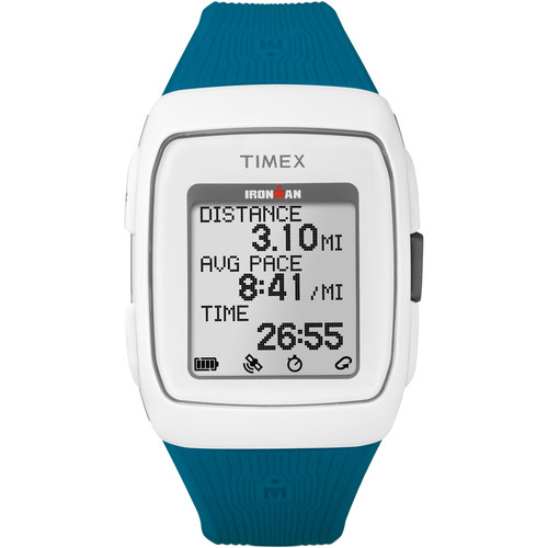 Timex IRONMAN GPS Watch (White/Teal)