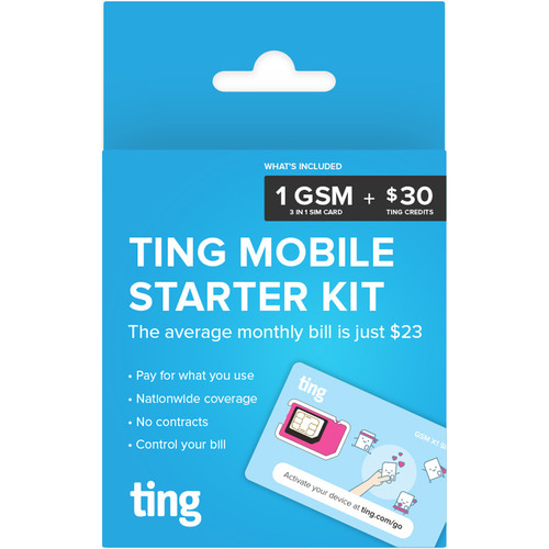 ting GSM Mobile Starter Kit