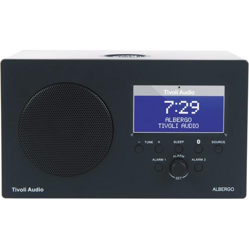 Tivoli Albergo Clock Radio (Graphite)