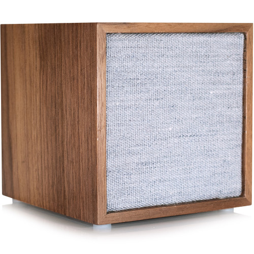 Tivoli CUBE Bluetooth Wireless Speaker (Walnut/Gray)