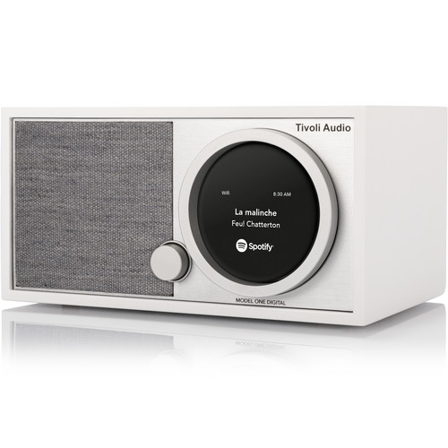 Tivoli ART Collection Model One Digital Radio (White/Gray)