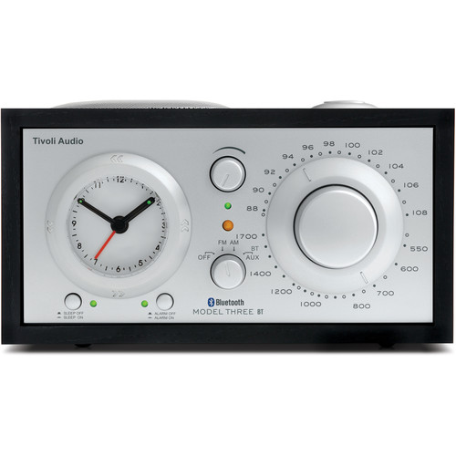 Tivoli Model Three BT (Black Ash/Silver)
