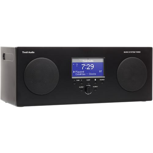 Tivoli Music System Three Portable Hi-Fi System (Gloss Black)