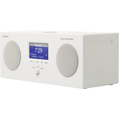 Tivoli Music System Three Portable Hi-Fi System (Gloss White)