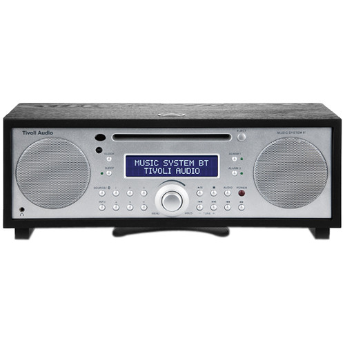 Tivoli Music System BT (Black Ash/Silver)