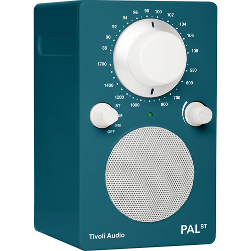 Tivoli PAL BT Bluetooth Portable Radio (Limited Edition Deep Ocean Teal)