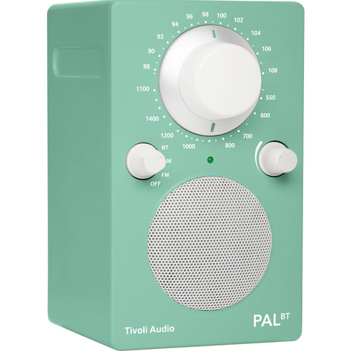 Tivoli PAL BT Bluetooth Portable Radio (Limited Edition Lucite Green)