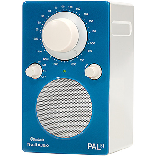 Tivoli iPAL Portable Radio (Blue/Silver)