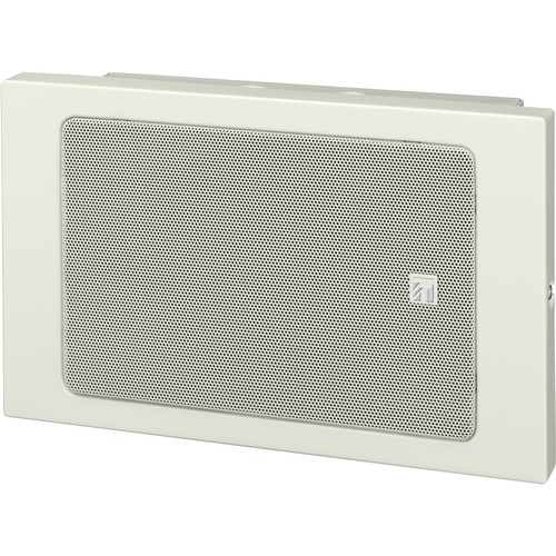 "Toa Electronics 6"" Wall-Mount Box Speaker for Emergency Broadcasting"