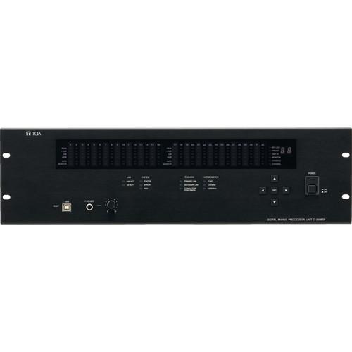 Toa Electronics D-2008SP 32-Channel Digital Mixing Processor Unit