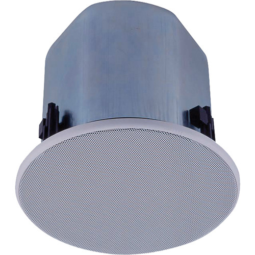 "Toa Electronics 5"" Full-Range Ceiling Speaker with Tile Bridges"
