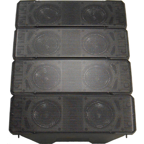 Toa Electronics HX-7 Weather Proof Variable Dispersion Speaker (Black)