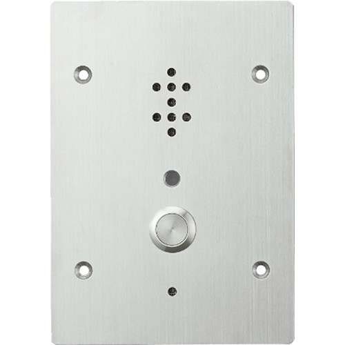 Toa Electronics Door Station- Logic Output For Door Control- Fits 3-Gang Electrical Box Ip54  (Connects To N-8000/80