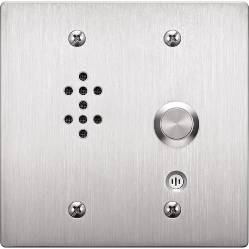 Toa Electronics N-8052DS 2-Gang Indoor Substation for N-8000EX or N-8010EX Intercom Exchange