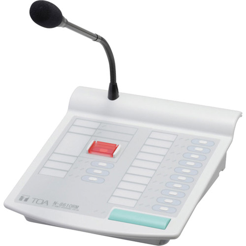 Toa Electronics N-8610RM Remote Microphone Station for N-8000 Series IP Intercom System