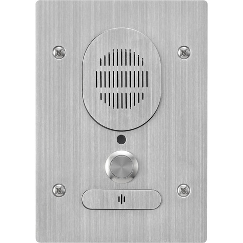 Toa Electronics N-8640DS C00 Outdoor Two-Way Intercom Door Station for N-8000 Series IP System