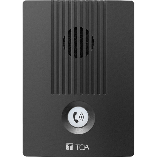Toa Electronics N-8650DS C00 Indoor Two-Way Intercom Station for N-8000 Series IP System