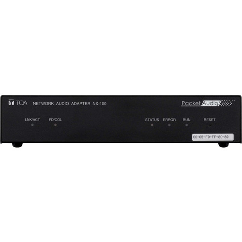 Toa Electronics NX-100PS Network Audio Adapter