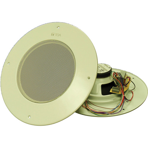 "Toa Electronics PC-580RVU 8"" In-Ceiling Speaker with Potentiometer"