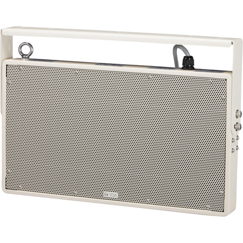 Toa Electronics PW-1230DW Plane Wave Compact Double Throw Speaker (White)