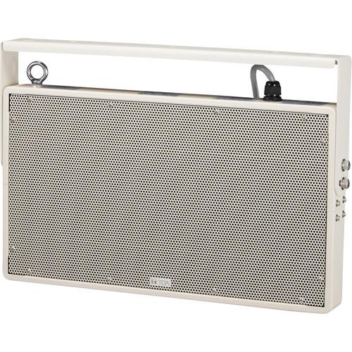 Toa Electronics PW-1230DW Plane Wave Compact Double Throw Speaker (White)