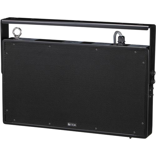 Toa Electronics PW-1230SB Plane Wave Compact Single Throw Speaker (Black)