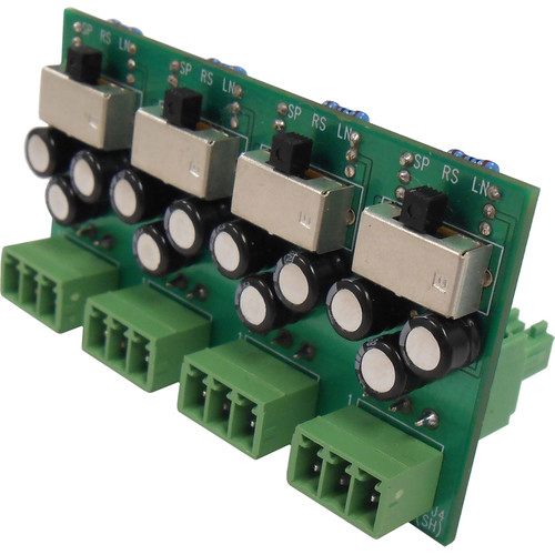 Toa Electronics Q-N8000LC AM 4-Channel Level Converter for N-8000RS and N-8010RS Substation Interface Unit
