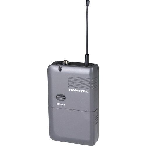Toa Electronics Trantec S4.4 Series BTX-E4Q UHF Wireless Beltpack Transmitter (Channel E4: 668-698 MHz)