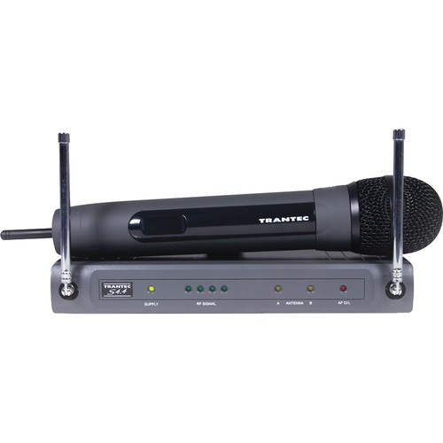 Toa Electronics Trantec S4.4 Series H-G5-US Q Wireless UHF Handheld Mic System (Channel G5)