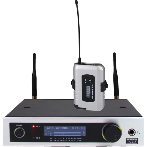 Toa Electronics Trantec S5.3 12-Channel Wireless Instrument System (F2, 636 - 668 MHz)