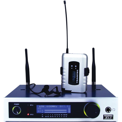 Toa Electronics Trantec S5.3L F2-USQ Wireless Presenter System (Channel F2)