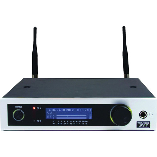 Toa Electronics Trantec S5.3-RX 12 Channel UHF Wireless Receiver (F2, 636 - 668 MHz)