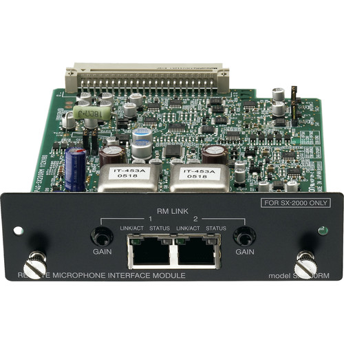 Toa Electronics SX-200RM Remote Microphone Interface Module for SX-2000 Series Audio Management System