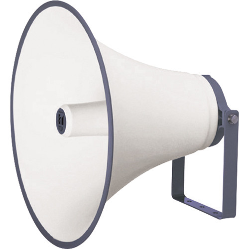 Toa Electronics Speaker Horn for use with Optional Driver Unit /Powder-Coated Finish/Weather-Proof