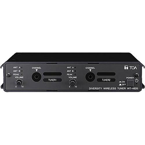 Toa Electronics WT-4820 Modular Dual-Channel Wireless Receiver