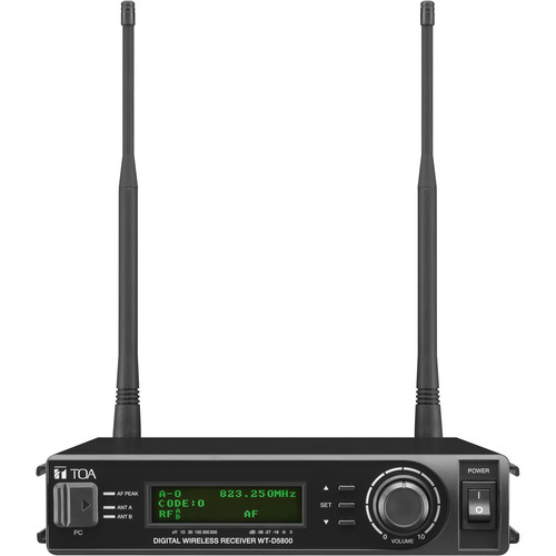 Toa Electronics WT-D5800 Digital Diversity Wireless Receiver (H01: 576 to 606 MHz)