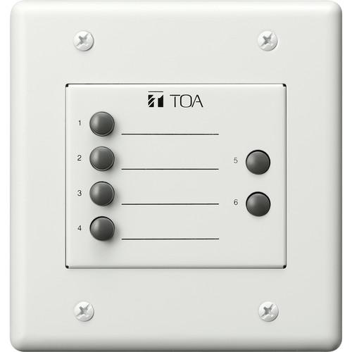 Toa Electronics ZM-9003 Remote Control Switch Panel (White)
