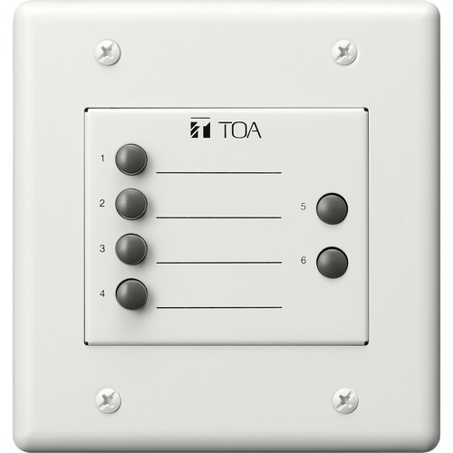 Toa Electronics ZM-9003 Remote Control Switch Panel (White)