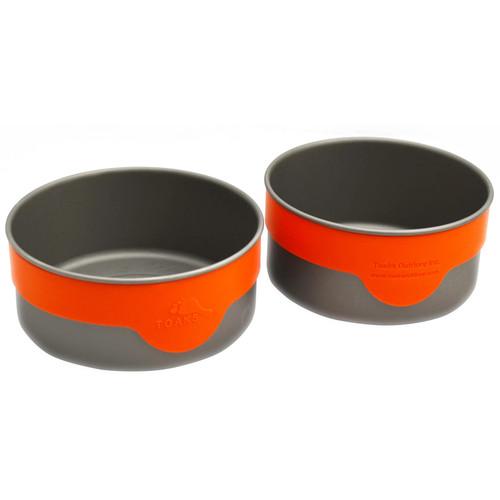 Toaks Outdoor Titanium Bowl Set with Bands