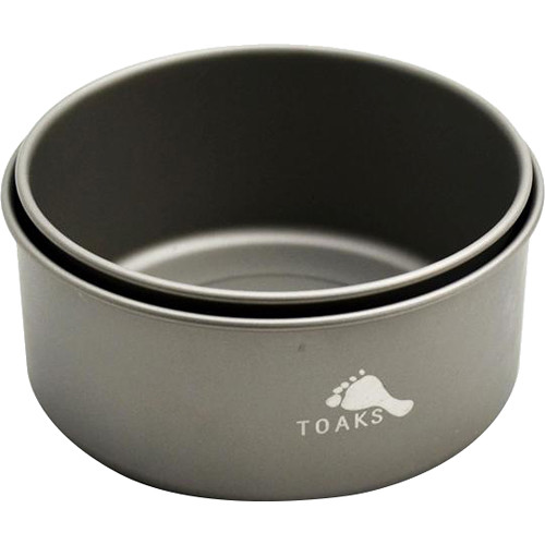 Toaks Outdoor Titanium Bowl Set