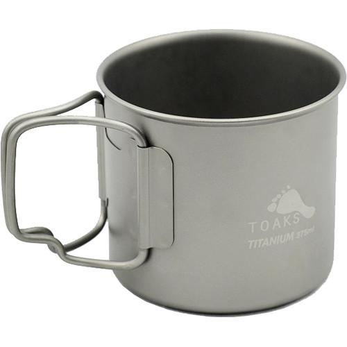 Toaks Outdoor Titanium 375mL Cup (12.7 oz)