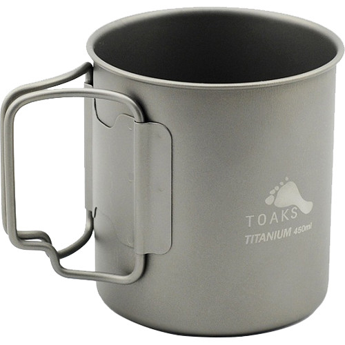 Toaks Outdoor Titanium 450mL Cup (15.2 oz)