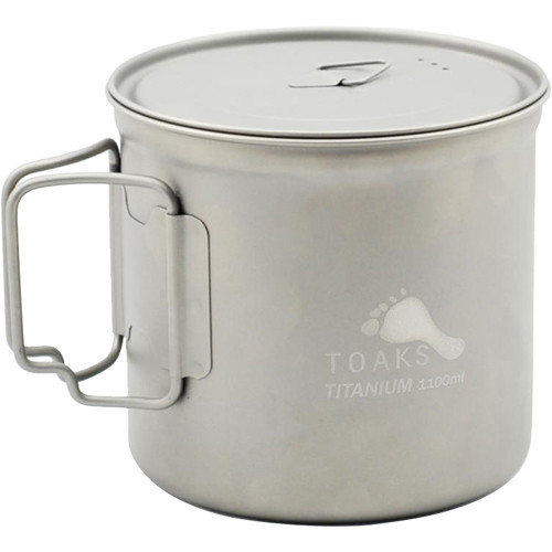 Toaks Outdoor Titanium Pot (1100mL)