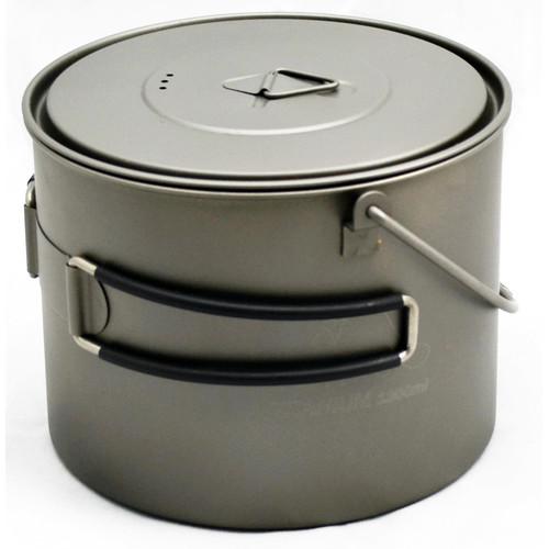 Toaks Outdoor Titanium Potwith Bail Handle (1300mL)