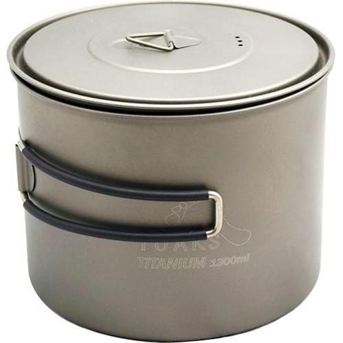 Toaks Outdoor Titanium Pot (1300mL)