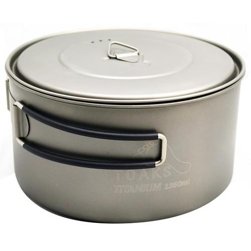 Toaks Outdoor Titanium Pot (1350mL)