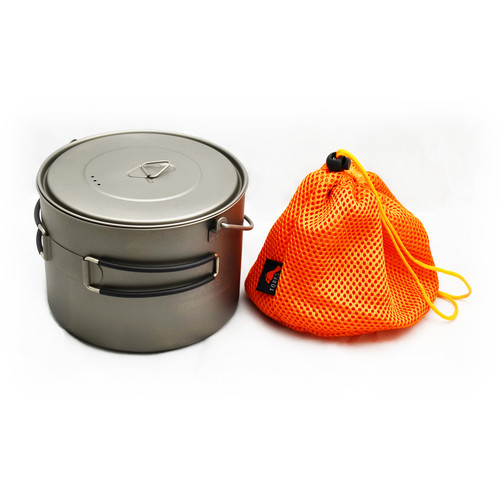 Toaks Outdoor Titanium Pot with Bail Handle (1600mL)